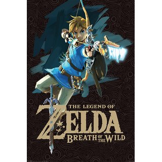 The Legend of Zelda: Breath of the Wild, Game Cover Poster