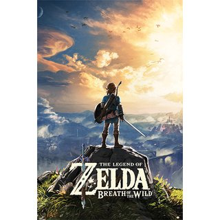 The Legend Of Zelda: Breath Of The Wild, Sunset Poster