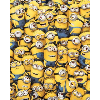 Despicable Me, Many Minions Poster