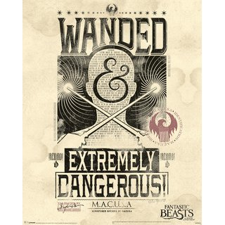 Fantastic Beasts, Extremely Dangerous Poster