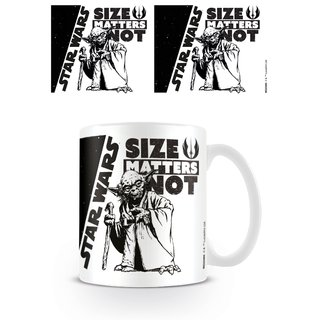 Star Wars, Size Matters Not Tasse
