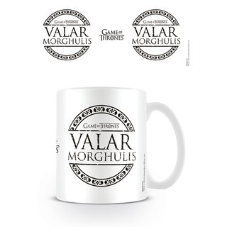 Game Of Thrones, Valar Morghulis Tasse