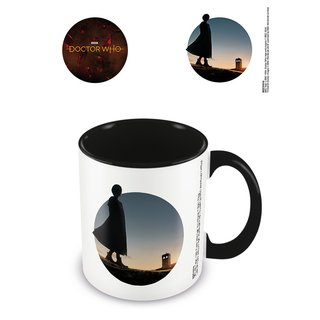 Doctor Who, New Dawn Coloured Inner Tasse Schwarz