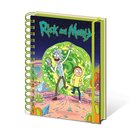 Rick And Morty, A5 Wiro Notizbuch