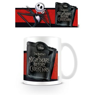 Nightmare Before Christmas, Jack Banner Tasse