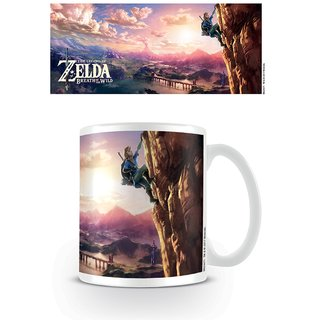 Zelda, Breath Of The Wild The Climb Tasse