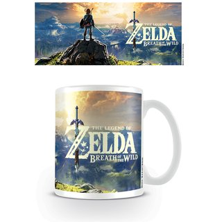 Zelda, Breath Of The Wild Sunset Tasse