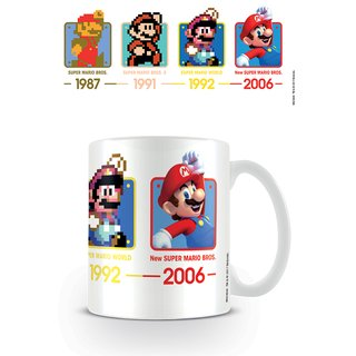 Super Mario, Dates Tasse