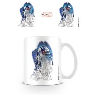 Star Wars The Last Jedi, R2-D2 Brushstroke Tasse