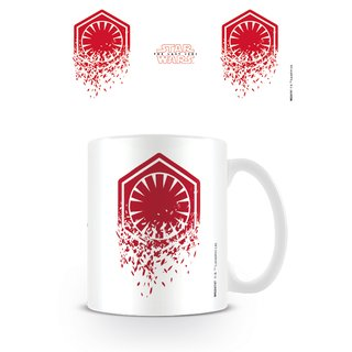 Star Wars The Last Jedi, First Order Symbol Tasse