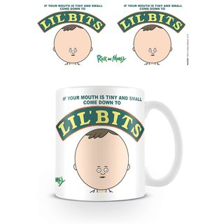 Rick And Morty, Lil Bits Tasse