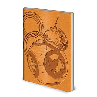 Star Wars,The Last Jedi BB-8 Flexi Cover A5 Notizbuch