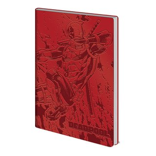 Deadpool, Action Flexi Cover A5 Notizbuch