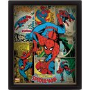 Marvel Retro, Spiderman 3D Bild
