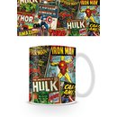 Marvel, Retro Covers Tasse