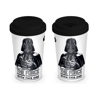 Star Wars, The Force Is Strong Coffee To Go Becher