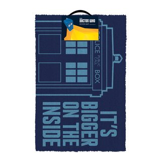 Doctor Who. Tardis Fußmatte