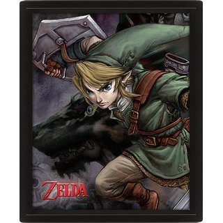 The Legend Of Zelda, Twilight Princess HD 3D Bild