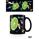 Rick And Morty, Portals Heat Change Tasse