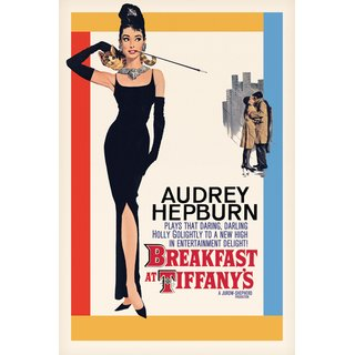 Audrey Hepburn, Breakfast at Tiffanys One-Sheet Poster