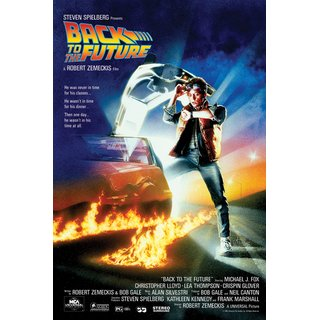 Back to the Future, One-Sheet Poster