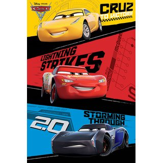 Cars 3, Trio Poster