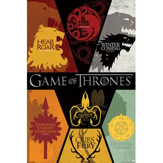 Game of Thrones, Sigils Poster
