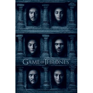 Game of Thrones, Hall of Faces Poster