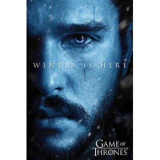 Game Of Thrones, Winter is Here - Jon Poster