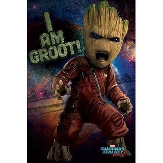 Guardians of the Galaxy Vol.2, Angry Groot Poster