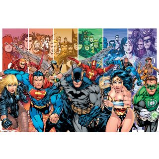 Justice League America, Generations Poster
