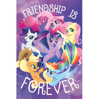 My Little Pony Movie, Friendship is Forever Poster