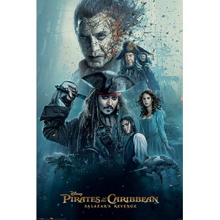 Pirates of the Caribbean, Burning Poster