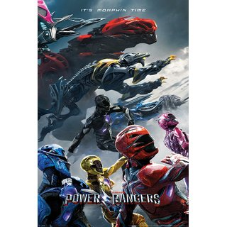 Power Rangers Movie, Charge Poster