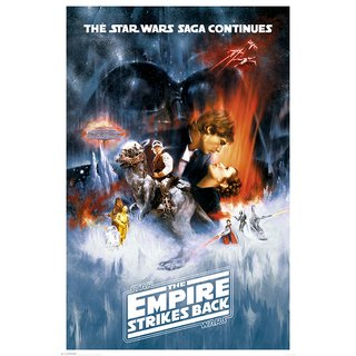 Star Wars The Empire Strikes Back, One Sheet Poster