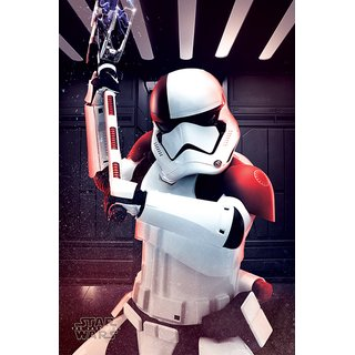 Star War The Last Jedi, Executioner Trooper Poster