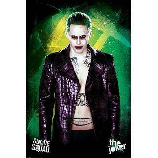 Suicide Squad, The Joker Poster
